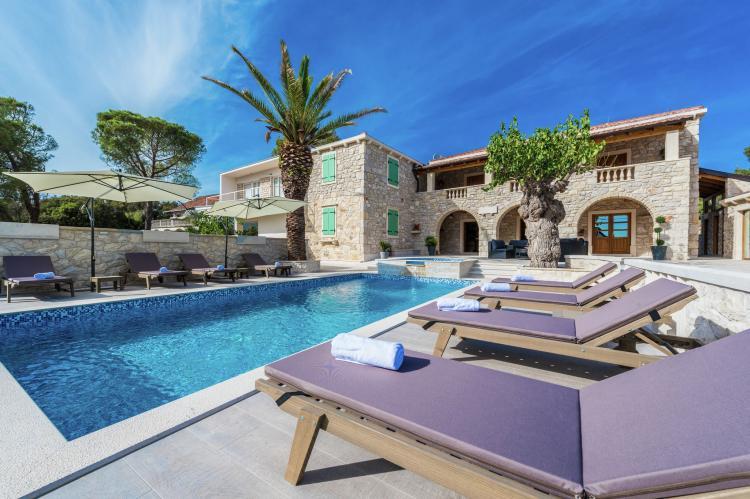 VakantiehuisKroatië - Noord Dalmatië: Villa Dumina  [6]