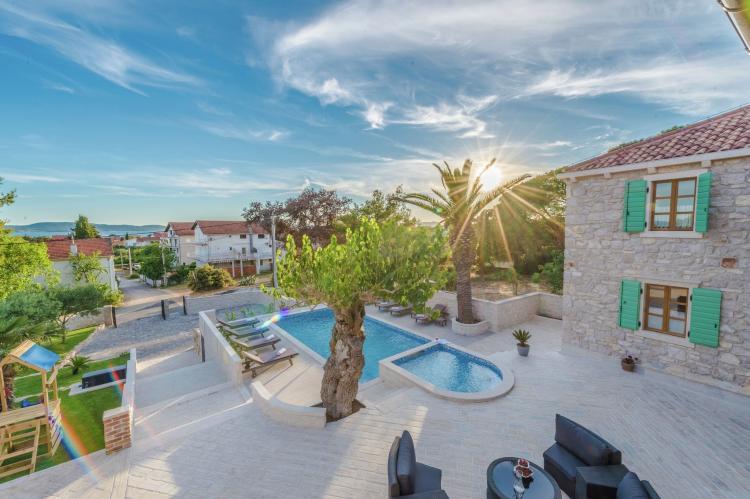 VakantiehuisKroatië - Noord Dalmatië: Villa Dumina  [9]