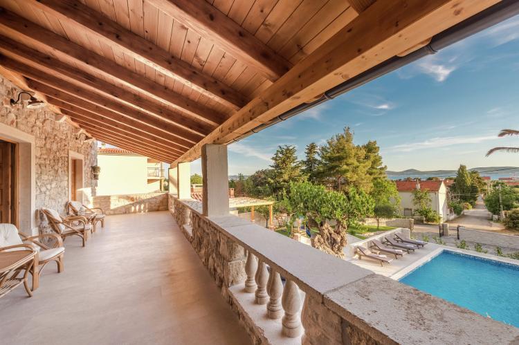 VakantiehuisKroatië - Noord Dalmatië: Villa Dumina  [11]