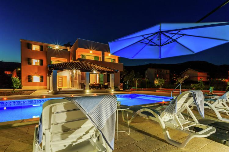 VakantiehuisKroatië - Midden Dalmatië: Villa Rusula first floor apartment A3  [4]