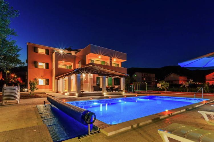 VakantiehuisKroatië - Midden Dalmatië: Villa Rusula first floor apartment A3  [5]