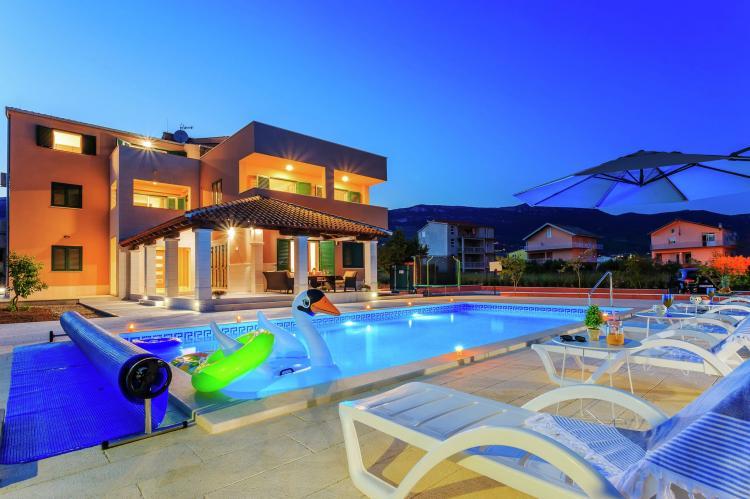 VakantiehuisKroatië - Midden Dalmatië: Villa Rusula first floor apartment A3  [1]
