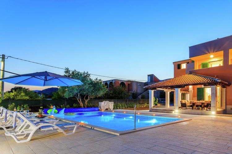 VakantiehuisKroatië - Midden Dalmatië: Villa Rusula first floor apartment A3  [7]