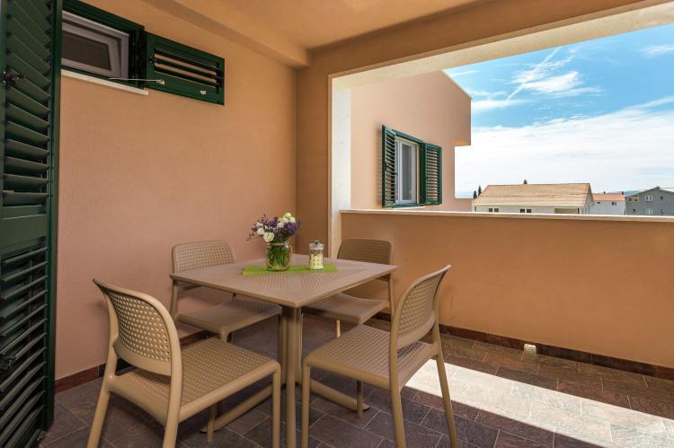 VakantiehuisKroatië - Midden Dalmatië: Villa Rusula first floor apartment A3  [22]