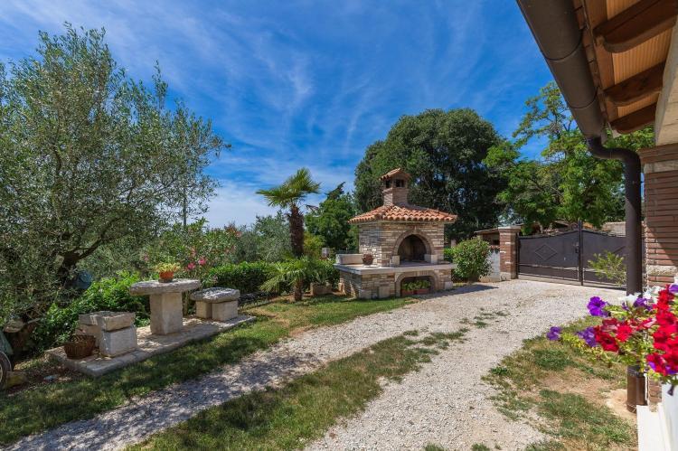 FerienhausKroatien - Istrien: Stonehouse Rita with pool near the city of Porec  [29]