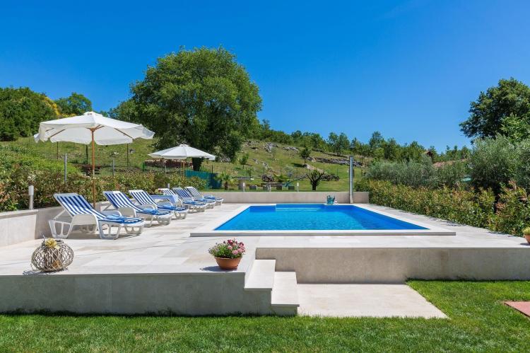FerienhausKroatien - Istrien: Stonehouse Rita with pool near the city of Porec  [6]