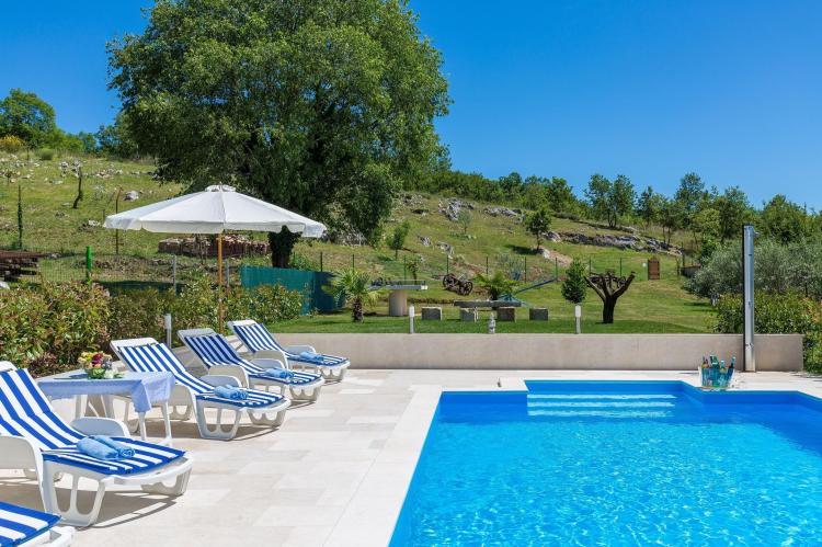 FerienhausKroatien - Istrien: Stonehouse Rita with pool near the city of Porec  [8]