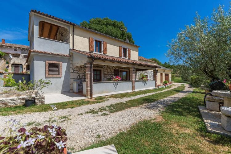 FerienhausKroatien - Istrien: Stonehouse Rita with pool near the city of Porec  [4]