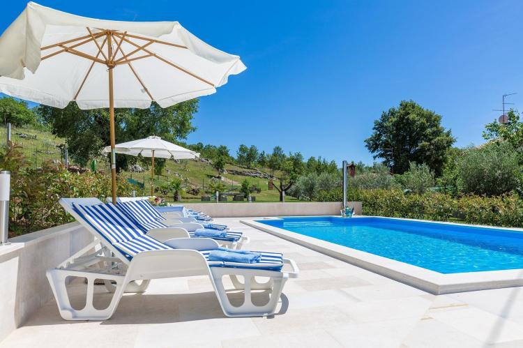 FerienhausKroatien - Istrien: Stonehouse Rita with pool near the city of Porec  [3]