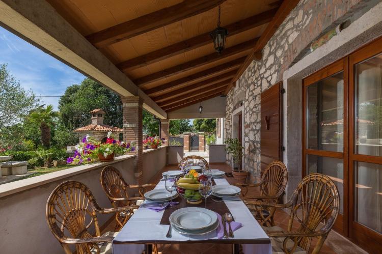 FerienhausKroatien - Istrien: Stonehouse Rita with pool near the city of Porec  [24]