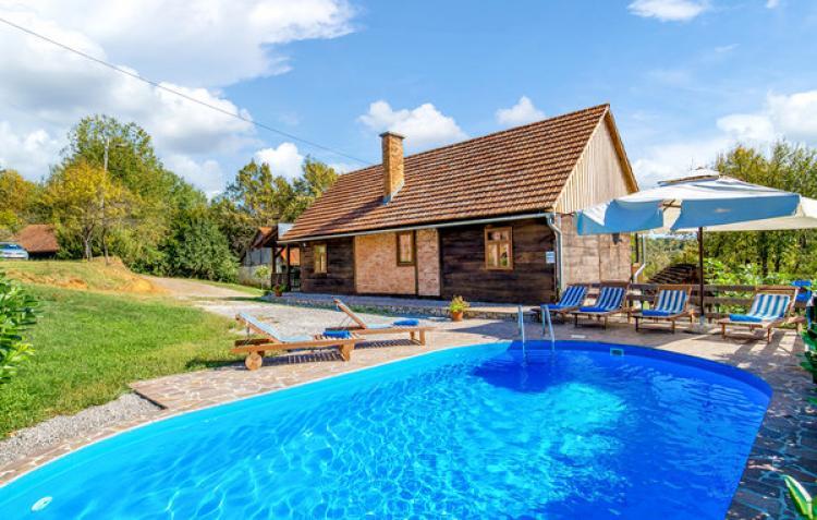 VakantiehuisKroatië - Midden Kroatië: Ribnik  [1]