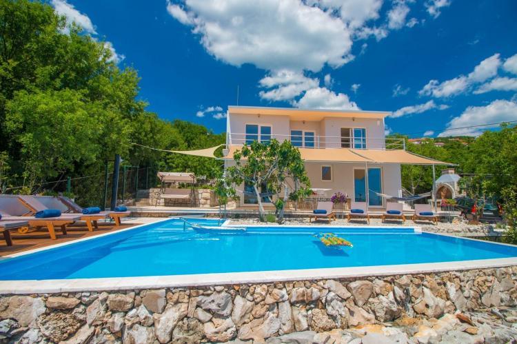 VakantiehuisKroatië - Kvarner: Villa Gardens  [1]