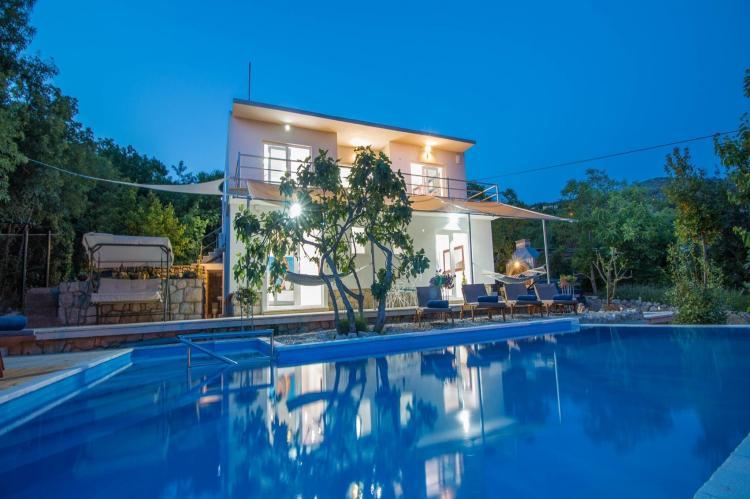 VakantiehuisKroatië - Kvarner: Villa Gardens  [4]
