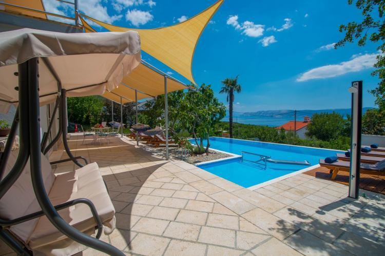 VakantiehuisKroatië - Kvarner: Villa Gardens  [2]