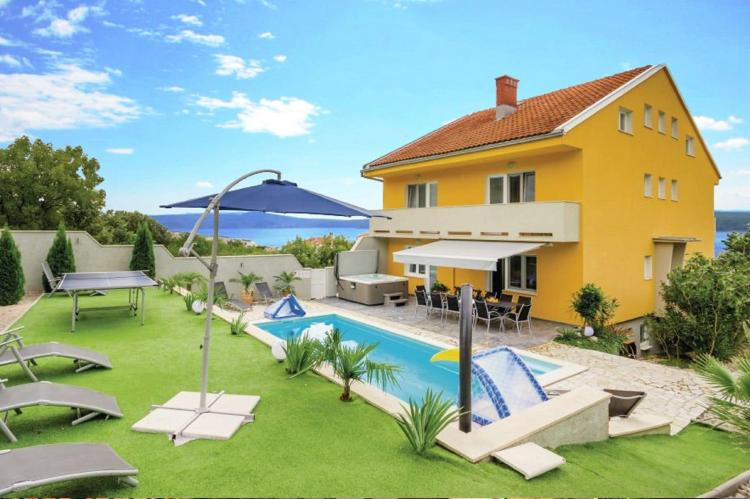VakantiehuisKroatië - Kvarner: Villa Moderna 2  [1]