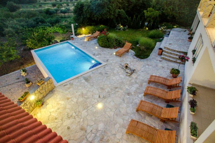 VakantiehuisKroatië - Zuid Dalmatië: Villa Suns  [7]