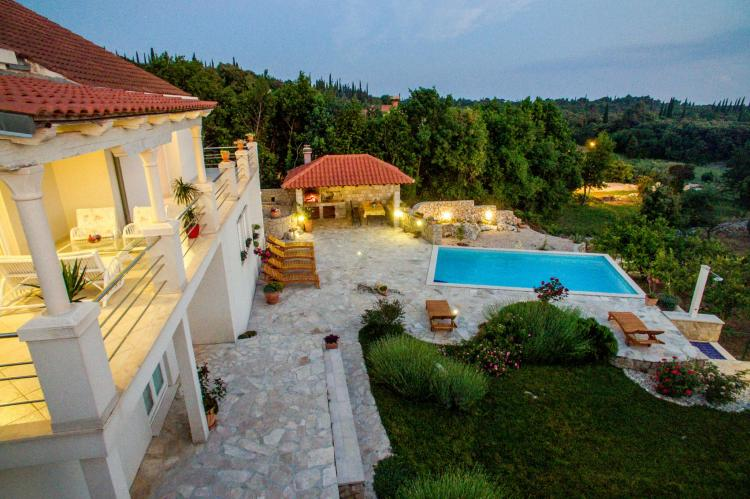VakantiehuisKroatië - Zuid Dalmatië: Villa Suns  [5]