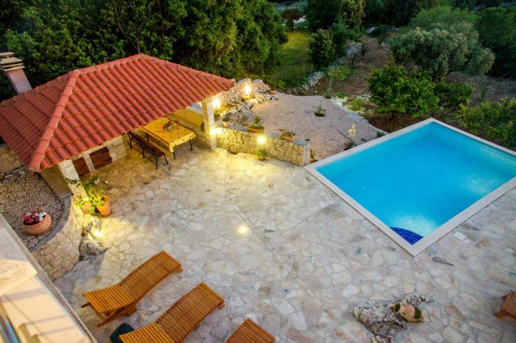 VakantiehuisKroatië - Zuid Dalmatië: Villa Suns  [4]