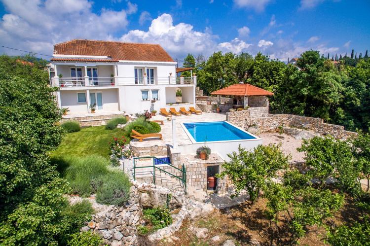 VakantiehuisKroatië - Zuid Dalmatië: Villa Suns  [3]