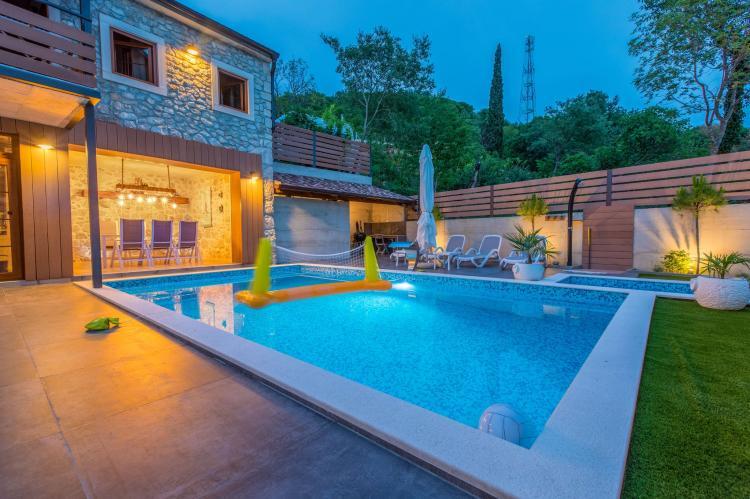VakantiehuisKroatië - Kvarner: Villa Zen  [4]