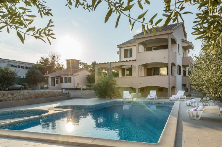 Holiday homeCroatia - Northern Dalmatia: Villa Zlatni Dvori  [4]