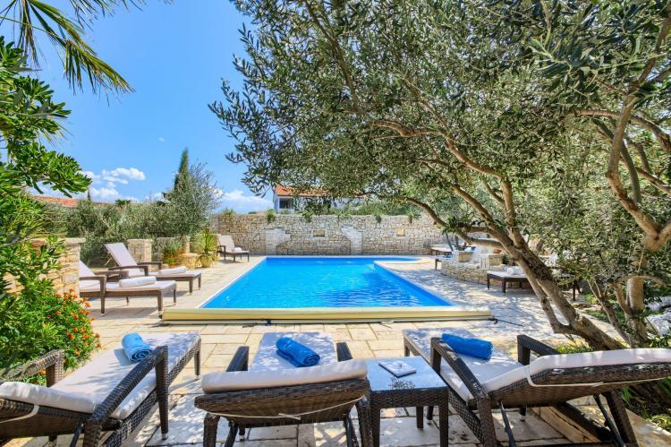 Holiday homeCroatia - Central Dalmatia: Apartment Čigrađa  [8]
