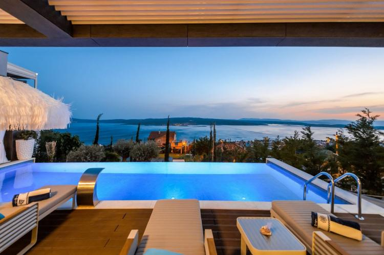 Holiday homeCroatia - Kvarner: Luxury Villa Panorama with Sea View  [4]