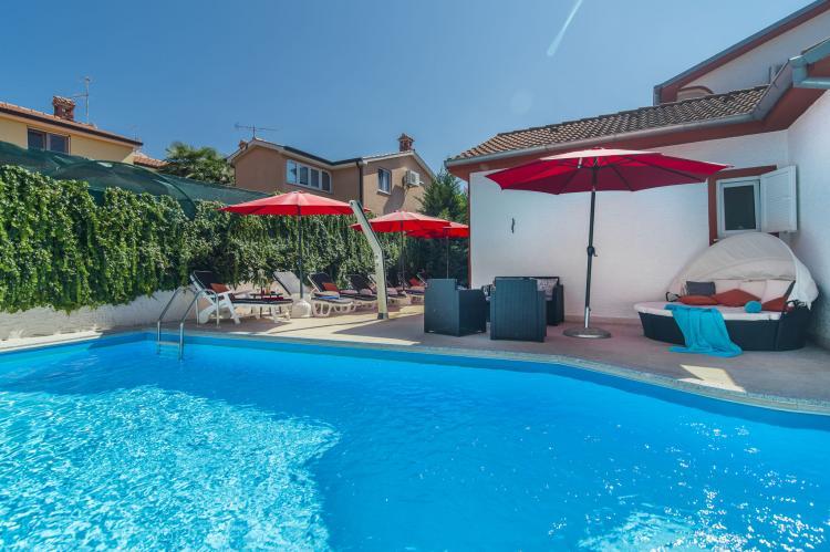VakantiehuisKroatië - Istrië: Villa Vallis Aurea  [6]