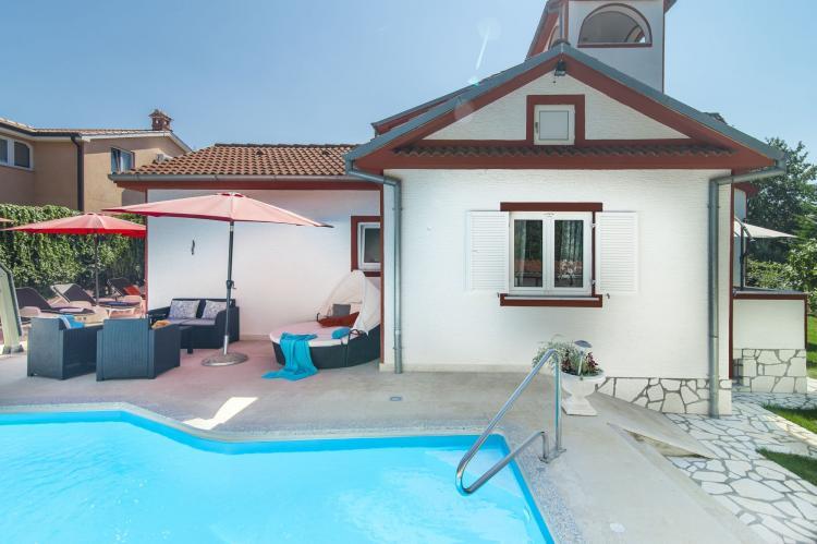 VakantiehuisKroatië - Istrië: Villa Vallis Aurea  [1]
