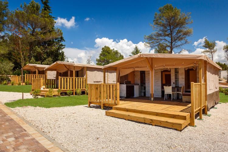 VakantiehuisKroatië - Istrië: Santa Marina Boutique Camping 4  [1]