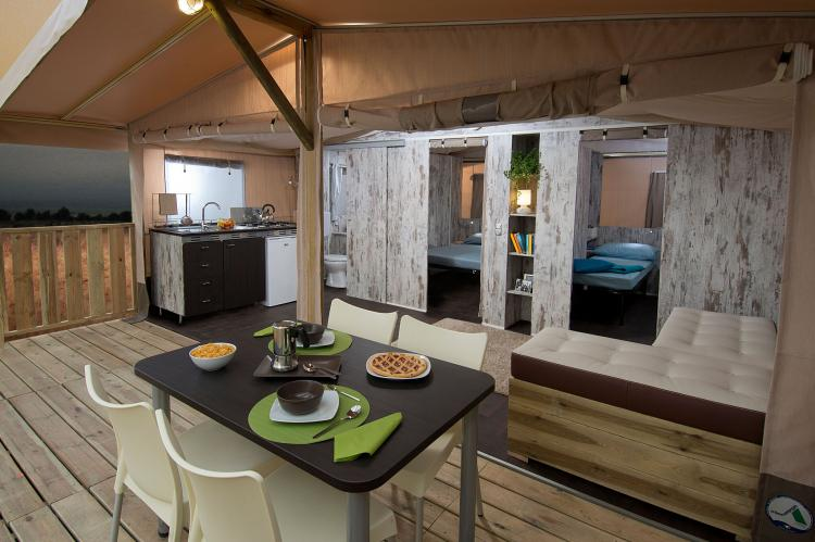 VakantiehuisKroatië - Istrië: Santa Marina Boutique Camping 4  [8]