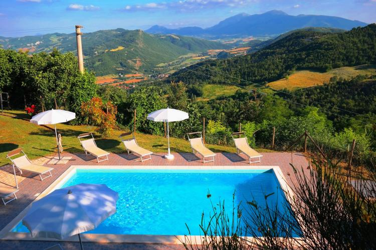 Holiday homeItaly - Umbria/Marche: La Panoramica da Stroppa  [8]