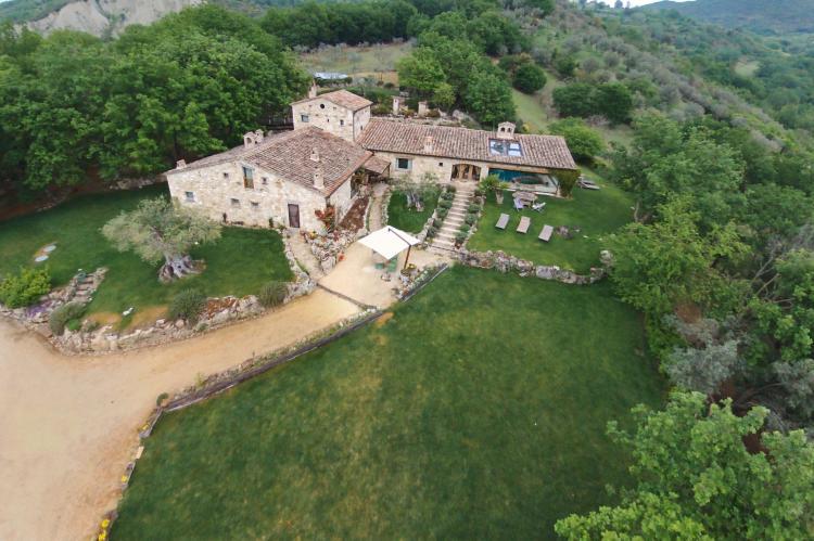 VakantiehuisItalië - Umbrië/Marche: Villa Mezzeria  [10]