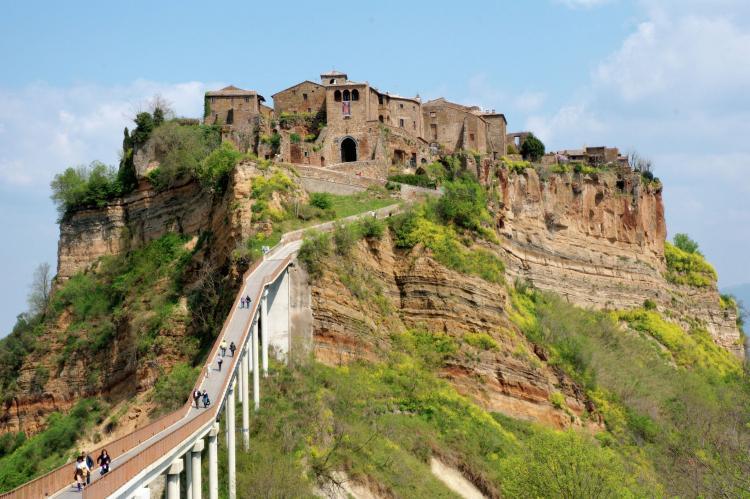 VakantiehuisItalië - Lazio/Rome: Bagnoregio  [23]