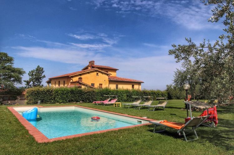 VakantiehuisItalië - Toscane/Elba: Podere Pulicciano Orciaia  [1]