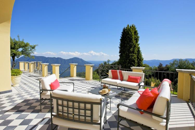 VakantiehuisItalië - Italiaanse Meren: Lago Maggiore Premeno Villa Sedici  [4]