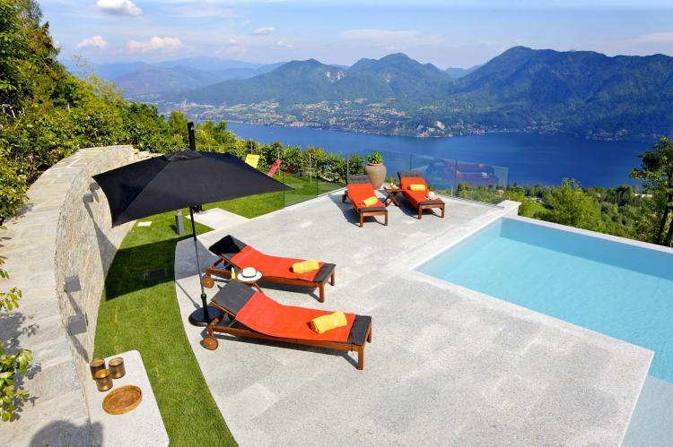VakantiehuisItalië - Italiaanse Meren: Lago Maggiore Premeno Villa Sedici  [10]