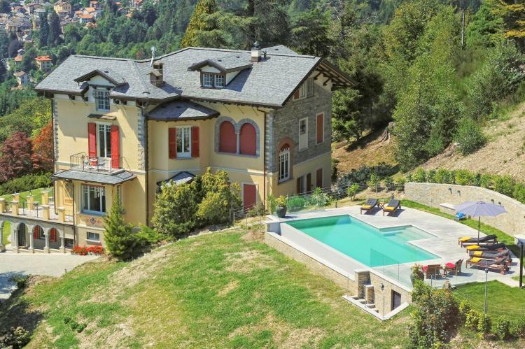 VakantiehuisItalië - Italiaanse Meren: Lago Maggiore Premeno Villa Sedici  [1]