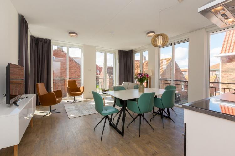 VakantiehuisNederland - Zeeland: Aparthotel Zoutelande - 6 pers luxe appartement  [1]