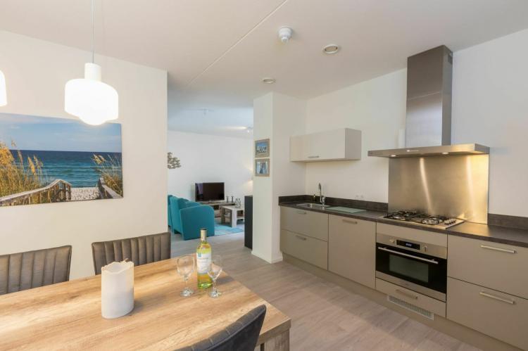 VakantiehuisNederland - : Appartement Duinhof Dishoek - 6 personen de luxe  [7]