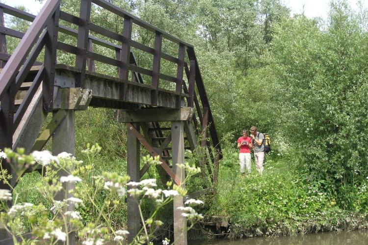 VakantiehuisNederland - Noord-Brabant: Polderhuisje 3 Aarde Groene Camping Lage Zwaluwe  [38]