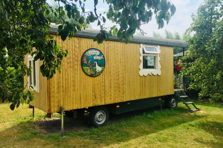 Holiday homeNetherlands - Noord-Brabant: Pipowagen de Weideblick  [2]