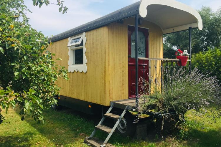 Holiday homeNetherlands - Noord-Brabant: Pipowagen de Weideblick  [1]
