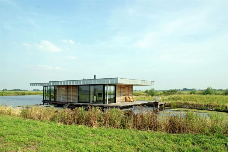 Holiday homeNetherlands - Friesland: Watervilla de Blauwe Reiger  [1]