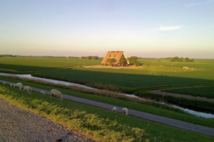 VakantiehuisNederland - Friesland: Landhuis Wad Anders  [2]