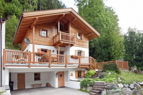 vakantiehuis Chalets im Wald in Wald im Pingzau