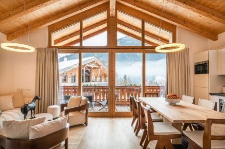 vakantiehuis Chalet Steinbock in Wald - Köningsleiten