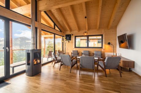 vakantiehuis Alpina Lodge in Klippitztörl