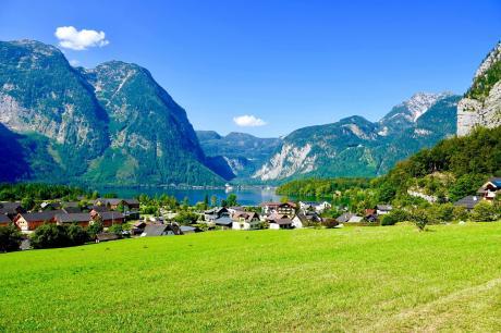 vakantiehuis Luxery Salzkammergut Studio F in Obertraun