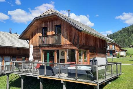 vakantiehuis Chalet Murau Woody 4 in Sankt Georgen ob Murau